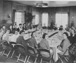 Bon Voyage Luncheon at the Barbizon, March 14, 1936