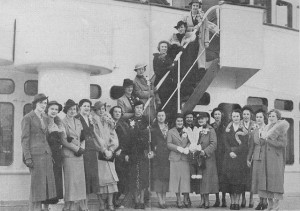 Individual snaps embarkation